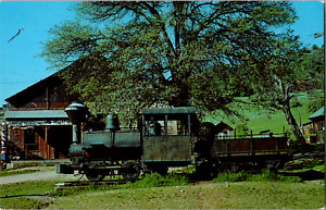 Vintage C 1970s Old Mining Steam Engine Gold Silver Ore 1890's Relic CA Postcard