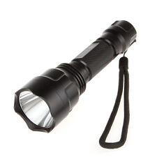 New 300Lm C8 CREE Q5 LED 5-Mode Super Bright 18650 Flashlight Torch LED Light
