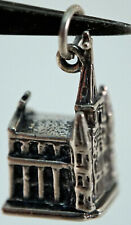 3D St Louis Cathedral New Orleans Solid Sterling Silver Charm