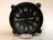 127 ChS Military Tank and Aviation COCKPIT CLOCK USSR vintage