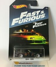 Honda S2000 * BLACK * Hot Wheels Fast & Furious * WJ14