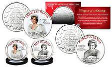 PRINCESS DIANA 1997-2017 20th ANNIVERSARY Royal Canadian Mint 2-Coin Set