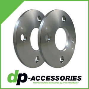5mm Press-On Lug Centric Wheel Spacers 4x100 57.1mm by DP-Accessories - 2 Pack