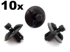 10x LEXUS Copertura del Motore Clip-PLASTICA tagliare elementi di fissaggio per motore SCUDI & PANNELLI