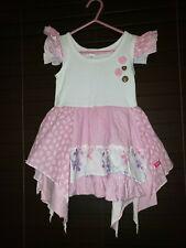 Naartjie dress size 3 Ellie Elly Enchanted pink white elephants