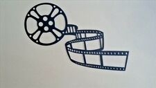 "Large Movie Reel and Film 3ft (36"" X 24"") Metal Wall Art Home Theater Decor"