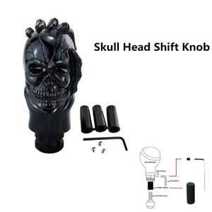 1pcs Skull Head Manual Gear Shift Knob Shifter Handle Lever Stick For Car Truck