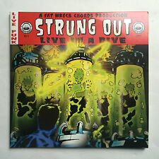 STRUNG OUT - LIVE IN A DIVE VOL 4 * LP VINYL * FREE P&P UK * FWC FAT652-1 *