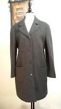 Copper Key Coat 100% Wool Lined Black Women's Size Large