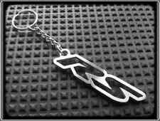 KEYRING for APRILIA RS - STAINLESS STEEL - HAND MADE - CHAIN LOOP FOB