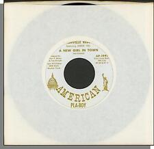 "Nashville Rebels - A New Girl in Town + The Rains Came - 7"" 45 RPM Single!"
