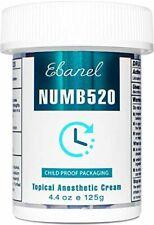 Ebanel 5% Lidocaine Topical Numbing Cream Maximum Strength, 4.4 Oz Pain Relief C