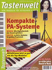 Tastenwelt 04 2004 Kompakte PA-Systeme / Workshop Musikstile Rock'n'Roll
