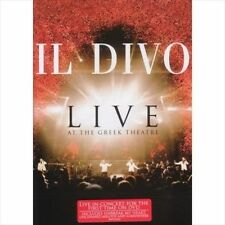 Live at the Greek [Video] by Il Divo (DVD, Dec-2006, Ariola (Germany)) SEALED