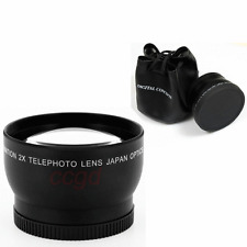 2X 62mm Telephoto Lens for Nikon D7100 D5200 D3200 D90 D300S D5100 DSLR Camera