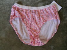 ~Hanes ~ Low Rise Brief (no ride up)~ Size: 5/ S ~ Color: Red Print ~  NEW $7.99