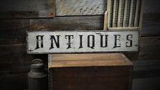 Vintage Antiques Wood Sign - Rustic Hand Made Vintage Wooden ENS1000190