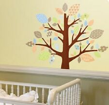 BABY TREE OF LOVE wall stickers 68 colorful decal nursery decor patterned leaves