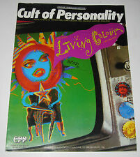 1988 SHEET MUSIC - CULT OF PERSONALITY - LIVING COLOUR