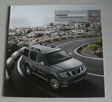 NISSAN Pathfinder 2010 accessori auto gamma brochure. Styling BARRE leghe ecc.