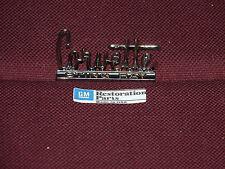 66 67 CHEVROLET CORVETTE STING RAY GLOVE BOX EMBLEM 1966 1967 NEW BADGE
