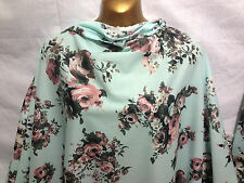 Quality L/Weight 100% Cotton Floral Roses Print Dress/Crafts Fabric*FREE P&P*