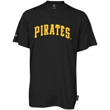 Majestic Two-Button Pittsburgh Pirates Replica Youth Cool Base Jersey YXL (R33)