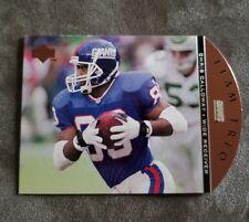 1996 Upper Deck Team Trio New York Giants Football Card #TT15 Chris Calloway