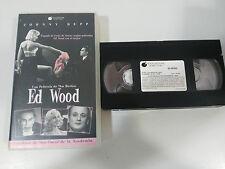 ED WOOD VHS TAPE CINTA COLECCIONISTA TIM BURTON JOHNNY DEPP BILL MURRAY PARKER