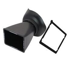 """2.8X 3.0"""" LCD viewfinder extender Eyecup for Nikon D7000 D300 D700 D800 D3 D3X"""