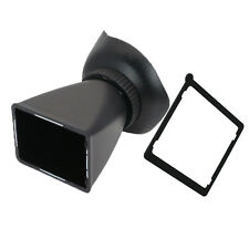 "2.8X 3.0"" LCD viewfinder Extender V1 for Canon 5D2 7D 500D Nikon D7000 D300 D800"