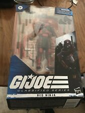 Hasbro G.I. Joe Classified  Series 2 Red Ninja