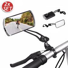 BICYCLE MOBILITY ROUND MIRROR GLASS MOUNTAIN ROAD BIKE W0X8