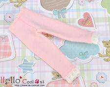 ☆╮Cool Cat╭☆【PT-L04】Pullip Capri Leggings/ Pants / Trousers with Lace # Pink
