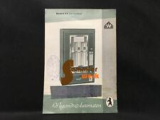 altes Prospekt-Blatt Wiegandt Waren-Automaten Berlin Neukölln – Standard 3 E