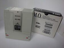 Qty 10 Pieces USED Sony MO Media EDM-9100C 9.1GB RW  Optical Disk - EDM-9100B