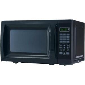 Mainstays 0.7 Cu. Ft. 700W Black Microwave Oven