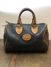 Authentic Vintage Dooney And BourkePebble Leather Bag Satchel