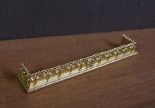 FIREPLACE  FENDER  ~  Jim Coates ~ Dollhouse Miniature ~ 1:12 scale ~ Room Box