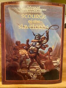 Scourge of the Slavelords: AD&D Campaign Adventure [contains modules A1-A4]
