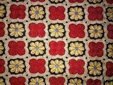 Men's Robert Talbott Silk Tie Yellow Red Black Blue 57' in and 3.5 inches wide