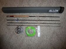 """Allen """"Heritage"""" 7 1/2 ft Fly Rod, with Large Arbor Fly Reel and Fly Line"""