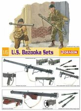 q Dragon - U.S. Bazooka Sets  (Scala 1/6) - Da assemblare e dipingere
