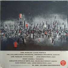 Cowell & Ruggles: chamber & piano works - Columbia ML 4986 (sealed) - very rare