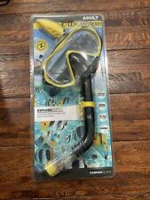New listing U.S. Divers Adult Explore Series Tempered Glass Mask And Snorkel Set Caspian New