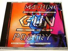 cd-album, Machine Gun Poetry - Adventures In The Underground, 12 Tracks
