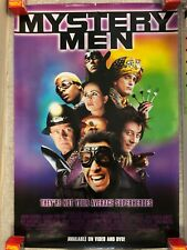 1999 Advance Movie Poster * Mystery Men Steller ,Rush, Kinnear 27X40'' Pb5