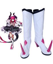 Fate/Extra CCC Lancer Elizabeth Bathory Cosplay Boots Shoes Custom Made