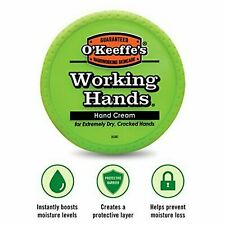 O'Keefe's Working Hands Hand Cream 3.4Oz Lotion Helps Prevent Moisture Loss