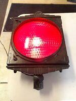 Crouse Hinds Vintage Antique Traffic Signal Blinking Stop Light Portland Oregon